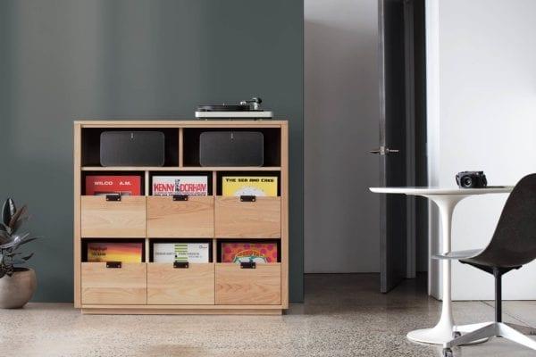 Dovetail Sonos LP Storage Cabinet